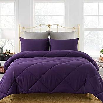 Best purple full size comforter Reviews