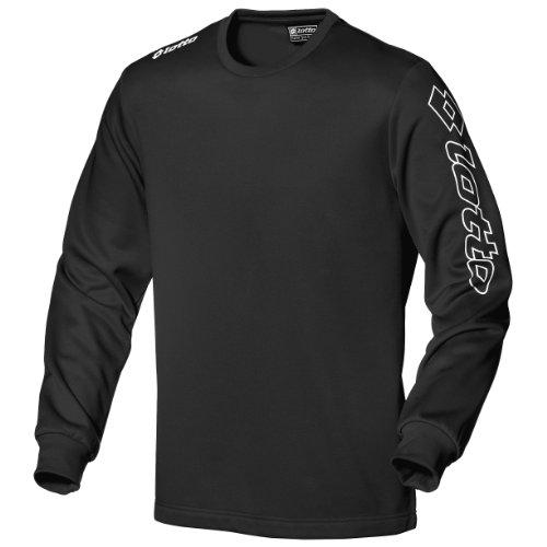 Lotto Langarm T-Shirt Long Sleeve Zenith Camiseta de Manga Larga, Hombre, Negro...