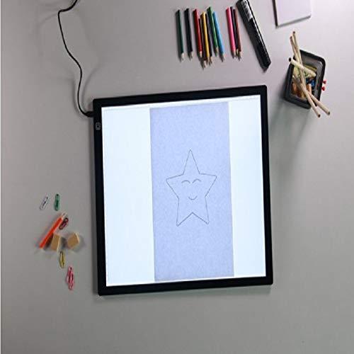 Cuaderno de dibujo con LED A4 para pintura de la tableta electrónica de arte digital