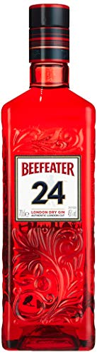 Beefeater 24 London Dry Gin – Der meistausgezeichnete Gin der Welt – Premium London Dry Gin hochwertiger Wacholderschnaps mit ausgewählten Botanicals – 1 x 0,7 L
