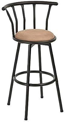 Innovareds barstools Redondo Asiento sillas de Bar Taburete de Bar Giratorio de Estilo Industrial Fundido Chic