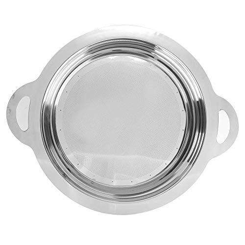 Fdit herbruikbare permanent filter in mand-stijl drukloos poreuze filtermand roestvrijstalen filter voor het filteren van olieresten sojamelkap honing MEERWEG AANBIEDING