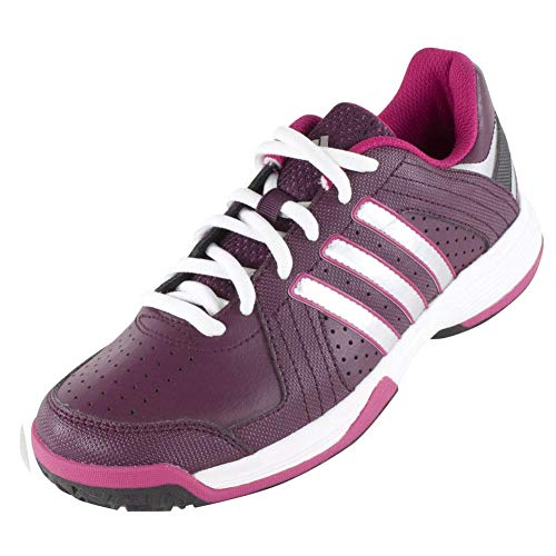 ADIDAS Juniors` Response Approach Tennis Shoes Amazon Red and Silver Metallic - (M25431-F14)