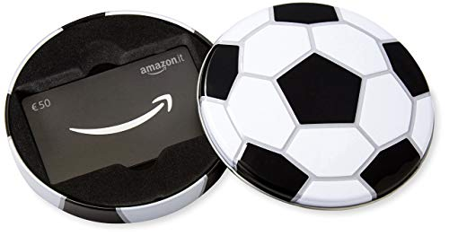 Buono Regalo Amazon.it - €50 (Cofanetto Pallone da calcio)