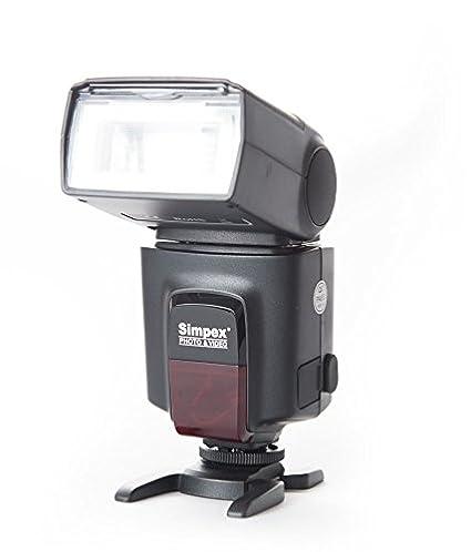 SIMPEX 522 Manual Shoe Mount Flash for DSLR Cameras (Black)