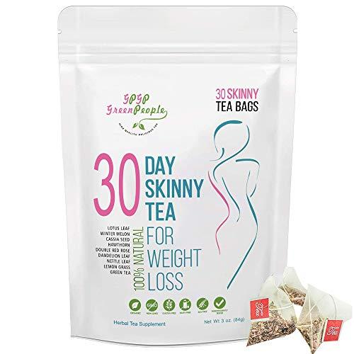 GPGP Greenpeople 30 Days Detox Tea - Weight Loss Tea, Organic Natural...