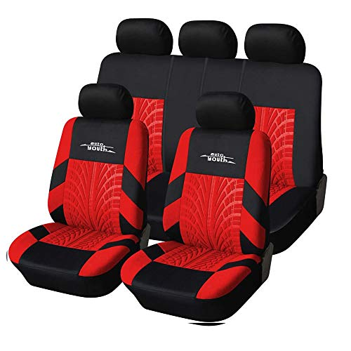 AUTOYOUTH Car Seat Covers Universal Fit Full Set Car Seat Protectors...