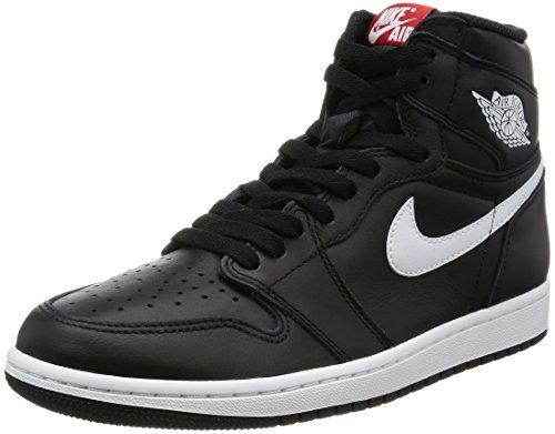 Nike Air Jordan 1 Retro High OG, Zapatillas de Baloncesto para Hombre, Negro (Black/White-Black), 40 EU 🔥