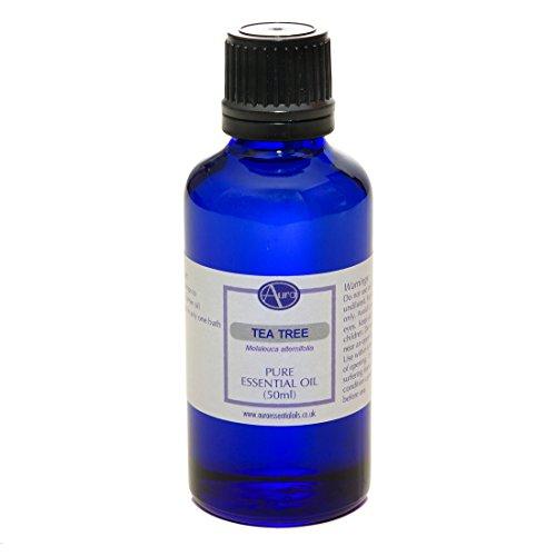Huile essentielle d'ARBRE À THÉ pour aromathérapie - 100% pure - 50 ml