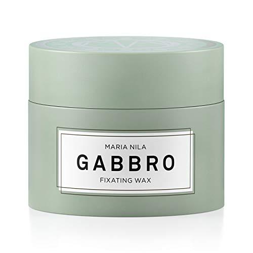 Maria Nila Minerals - Gabbro Fixating Wax 100ml | Schnell trocknendes und formgebendes Haarwachs