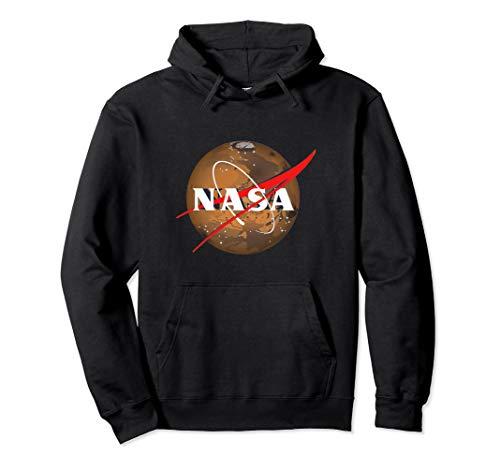 Official NASA Logo - Mars Pullover Hoodie