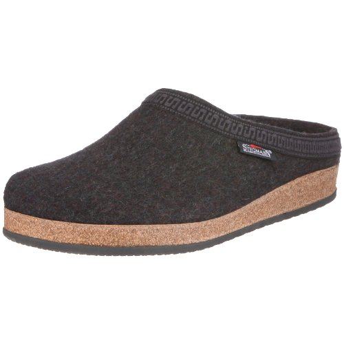 Stegmann 108 17801, Unisex-Erwachsene Pantoffeln, Grau (Graphit 8801), EU 50
