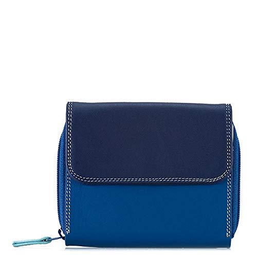 Mywalit 1239, Damen-Geldbörse Blau Denim