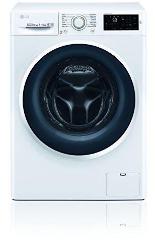 LG Electronics F 14WD 85EN0 Waschtrockner / A / 1078 kWh/Jahr / 1400 UpM / 8 Kg / 11200 liter/jahr / Digitaldisplay mit Restzeitanzeige