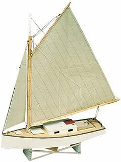 Midwest Products 965 Static Display Apprentice Boat Model Crafts Kit, Beginner, Chesapeake Bay Flattie