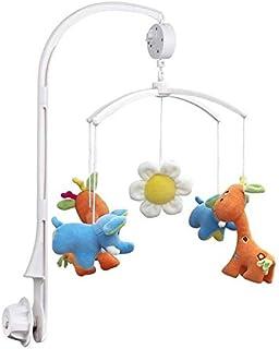 سرير الطفل المحمول سرير جرس حامل ذراع القوس + يختتم الموسيقى مربع لعبة أطفال