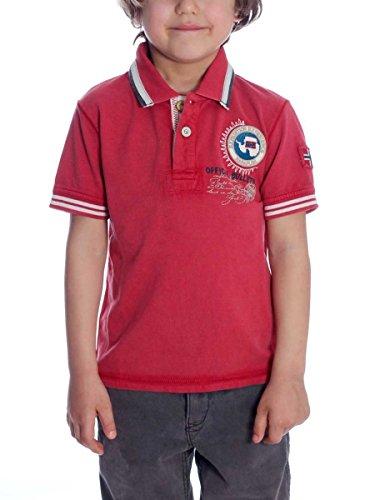 NAPAPIJRI Polo Kid Gandy N0Y4X1-2-8 años MainApps R15-red Pep(rosso) 6 Años- 112 cm