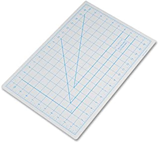 X-Acto X7761 Self-healing cutting mat, nonslip bottom, 1 grid, 12-Inch by 18-Inch board with 11-Inch by 17-Inch measuring surface, gray