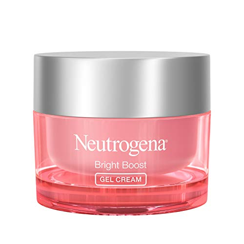 Neutrogena Bright Boost Brightening Moisturizing Face with Skin Resurfacing and Brightening Neoglucosamine for smooth skin Facial with AHA PHA and Mandelic Acids, Gel Cream, 1.7 Fl Oz