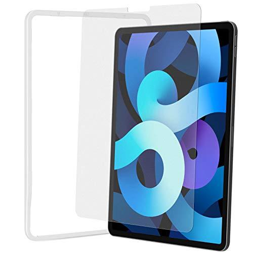 NIMASO ガラスフィルム アンチグレア iPad Pro 11 (2021 / 2020 / 2018) / iPad Air4 用 強化 ガラス 保護 フイルム ガイド枠付き