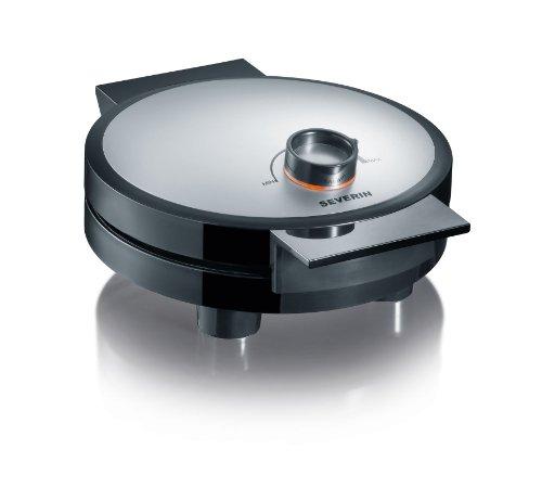 Severin WA 2104 Waffelautomat, schwarz-silber