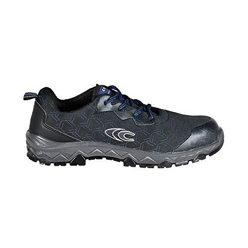 COFRA TN050-000.W37 CROSSFIT - Calzado de seguridad, S1 P SRC, color negro/azul,...
