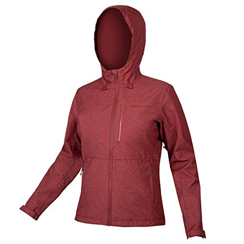 Endura Hummvee Chaqueta impermeable con capucha para mujer MTB