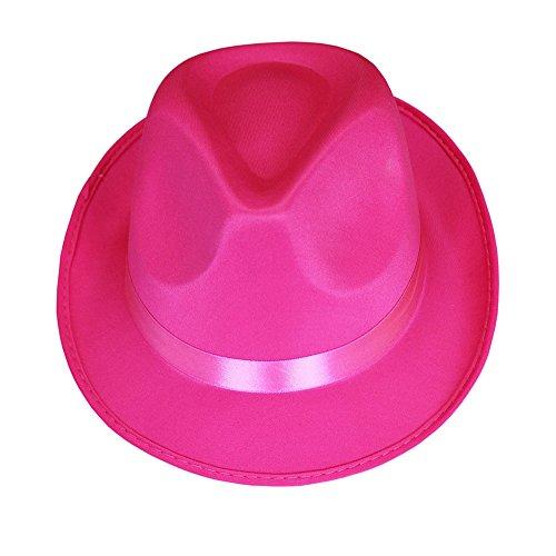 Hut neon, sortierte Farben, Gr. 58 cm, Mottoparty, Partyhut, Karneval (58, pink)