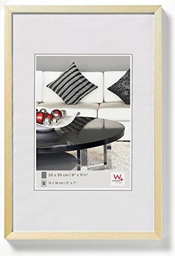 walther design AJ045G aluminium fotolijst Chair, 30x45 cm, goud