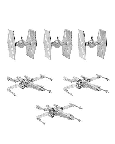 numskull Official Star Wars Christmas Tree Decorations/Ornaments (Silver)