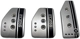 Sparco 037879IT01 Pedal Set (Settanta Short Silve)