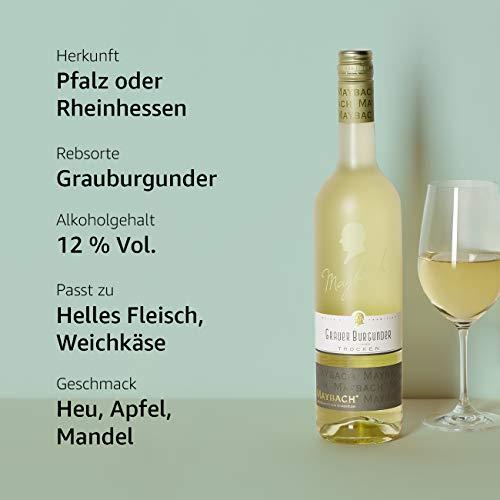 Maybach Grauer Burgunder QbA trocken - 4