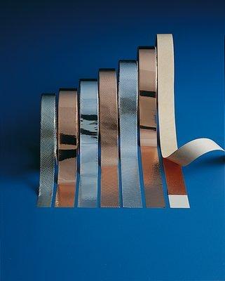 3M, 1245, Embossed Copper Foil EMI Shielding Tape 1245, 2 in x 18 yds, 3 in Paper Core (1 Pack)