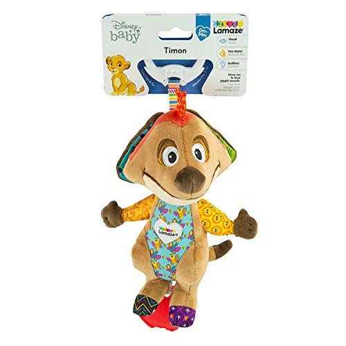 Lamaze Disney Lion King Clip and Go, Timon Baby Toy