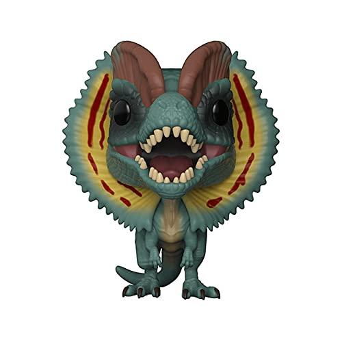 Fcunokacetr funko pop Jurassic Park Velociraptor Dilophosaurus figura figura