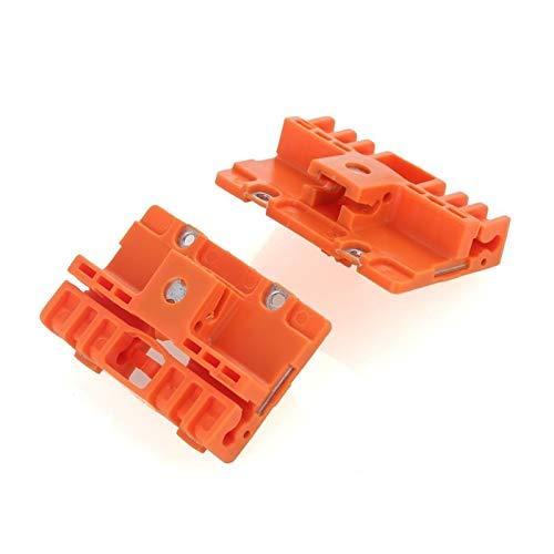 Rumors 2pcs Ventana regulador de reparación Clips de reparación de Ventanas regulador de Ventana Kit de Clips Adecuado para A6 4B0837463B 125-59010L 125-590009R Izquierdo Y Derecho