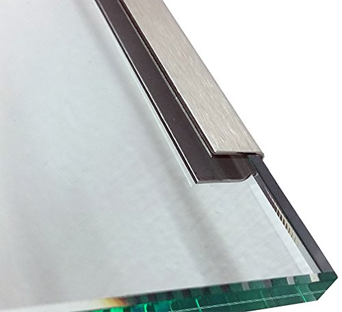 1 Einfassprofil U-Profil 1,0mm axb=15mm c=12mm (innen10mm) L= 2000 mm Edelstahl gebürstet Korn 320 1.4301