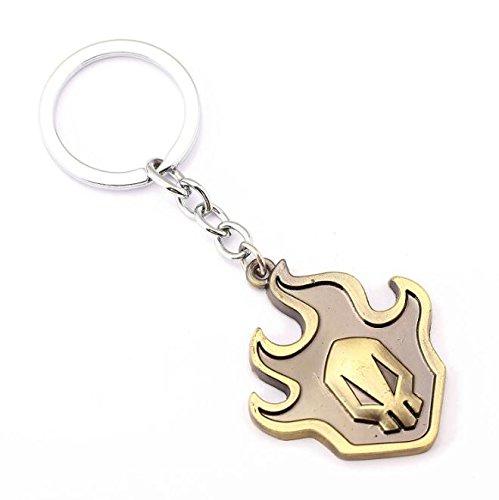 yushert Bleach Anime Schlüsselanhänger aus Legierung, Cosplay-Anhänger (#2 Bronze (5 x 4,5 cm)