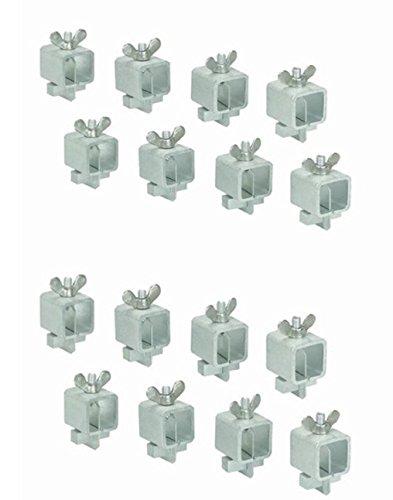 Stoßschweißklemmen, für Autotüren, 16 Stück