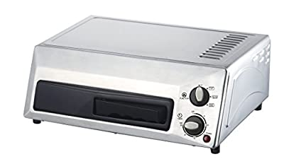 Magic Chef Countertop Stainless Steel Pizza Oven HQPZO13ST, 12 inches