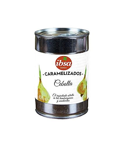CEBOLLA CARAMELIZADA IBSA LATA 420 GR (1 LATA)