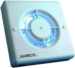 Manrose - Extractor de aire para baño con temporizador (10,1 cm)