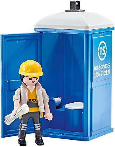 WC portátil de obra Playmobil - City Action (9844)