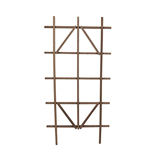 Panacea 83738 Wooden Ladder Trellis, 48' Tall, Brown