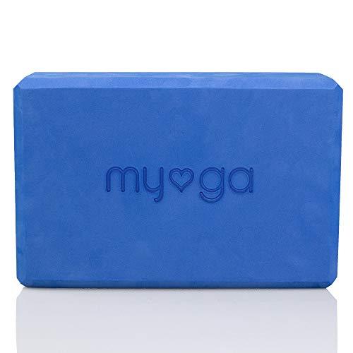 Myga Foam Block (Royal Blue) Bloque de Espuma para Yoga, Color, Unisex Adulto, Azul Real, 10812 cm