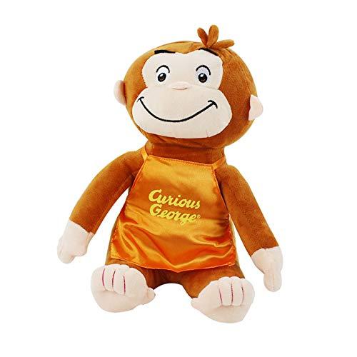 Miwaimao 30cm 4 Estilo Jorge el Curioso muñeca de la Felpa del Mono Botas rellena Felpa Animales Juguetes para niños y niñas,UNA