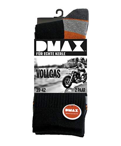 DMAX Vollgas Sock43/46 schw2er