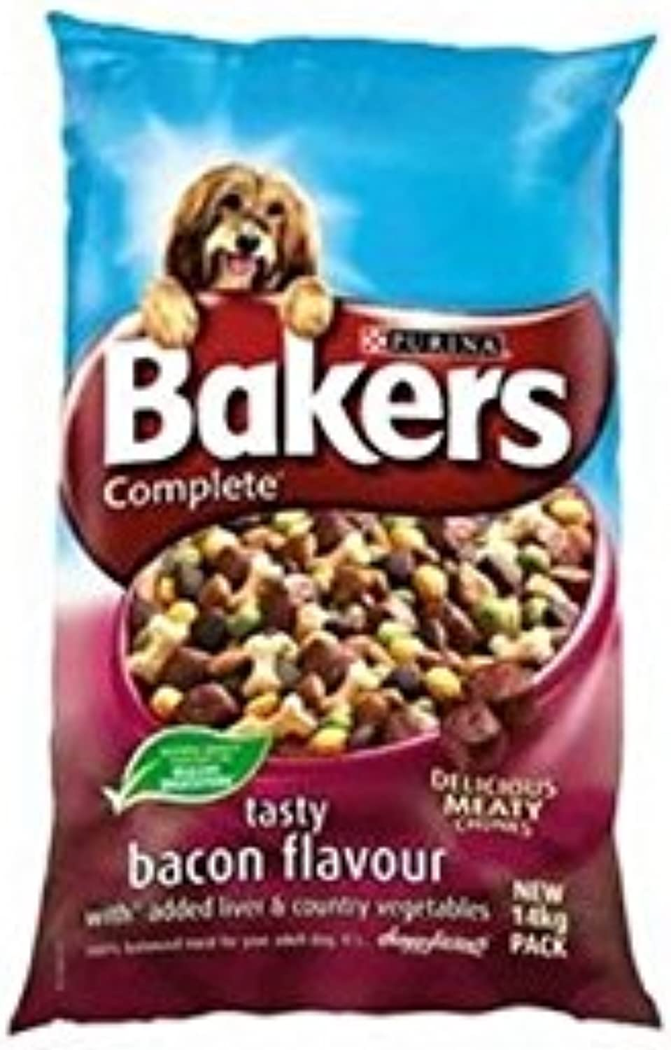 Bakers Complete Bacon and Liver (5kg) (Pack of 2)