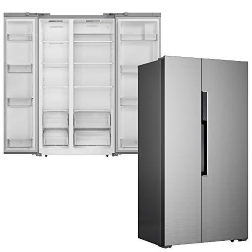 SCHNEIDER SBS600.4A++NFIX Stand Kühlschrank Edelstahl HxB:
