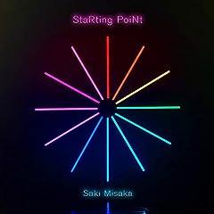 三阪咲「StaRting PoiNt」の歌詞を収録したCDジャケット画像